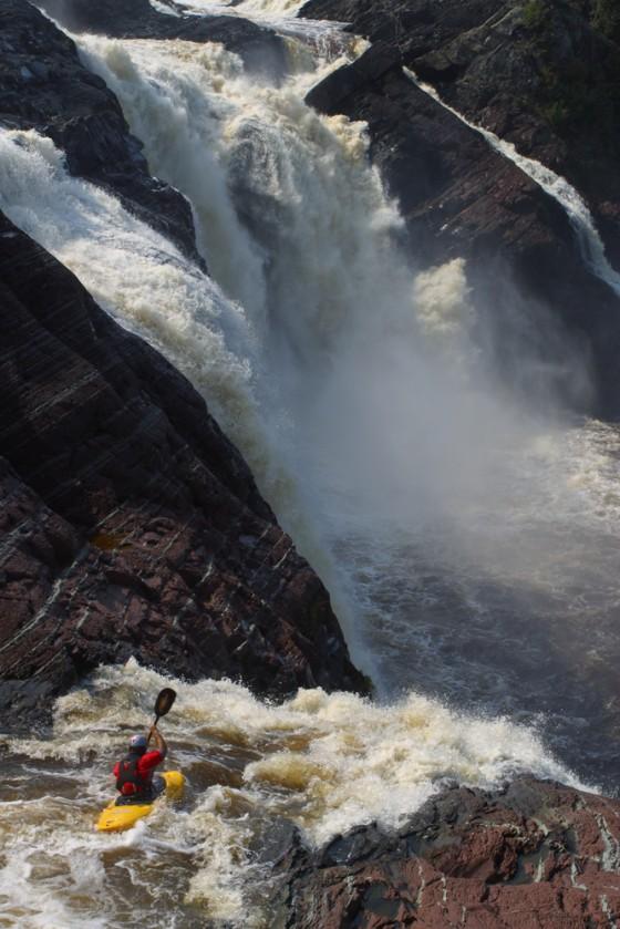 chaudiere falls, Kayaking, Tyler Curtis