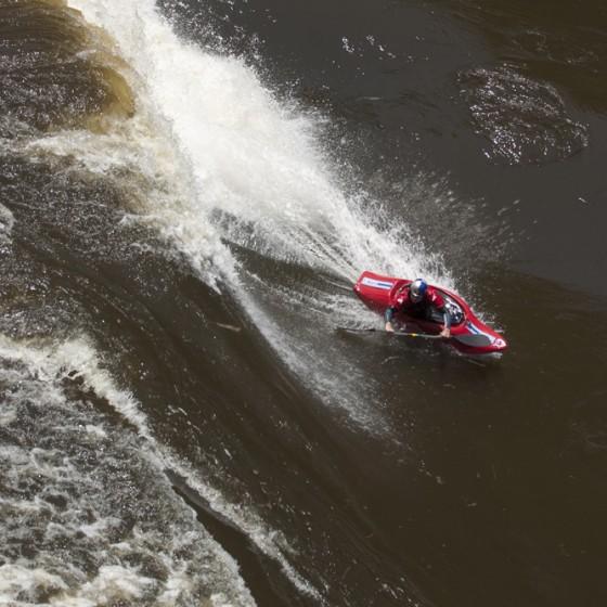 Rusty Sage, #11, Zambezi River, Standing wave